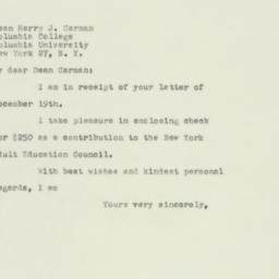 Letter : 1949 December 24