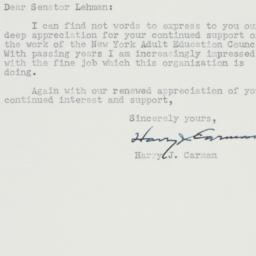 Letter : 1950 December 18