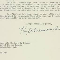 Letter : 1956 January 27