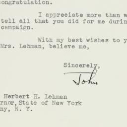 Letter : 1941 November 7