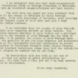 Letter : 1949 September 14