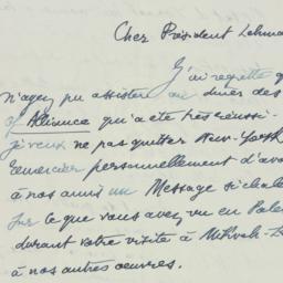 Letter : 1949 June 19