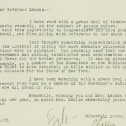 Letter : 1930 January 2