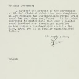 Letter: 1944 October 18