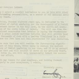 Letter: 1947 August 5
