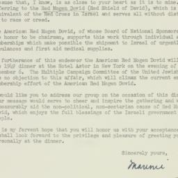 Letter : 1949 September 15