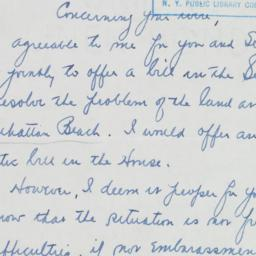 Letter: 1949 December 14