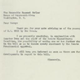 Letter: 1950 July 19
