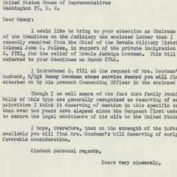 Letter : 1956 April 18