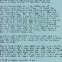 Letter : 1957 April 23