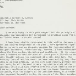 Letter : 1963 February 5