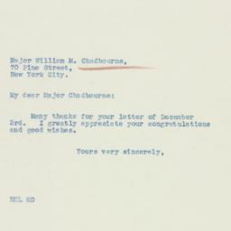 Letter : 1936 December 10