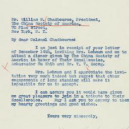 Letter : 1940 December 23