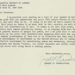 Letter : 1947 May 14