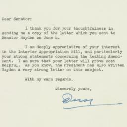 Letter: 1951 June 14