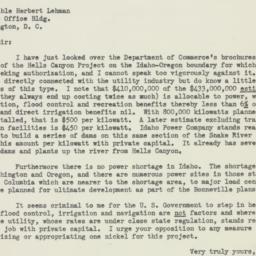 Letter: 1951 June 19