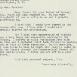 Letter : 1957 January 14
