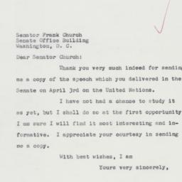 Letter : 1962 April 11
