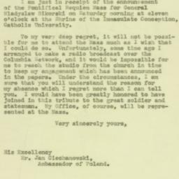 Letter : 1943 July 9