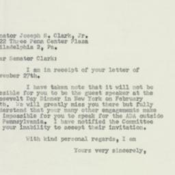 Letter : 1956 December 3