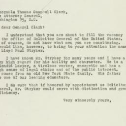 Letter : 1946 October 20