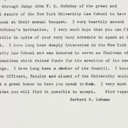 Telegram : 1951 December 5