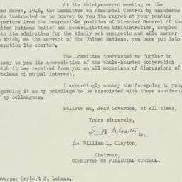 Letter : 1946 March 27