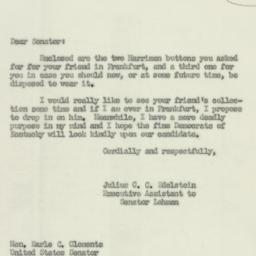 Letter : 1952 May 24