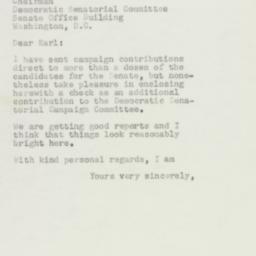 Letter : 1954 October 16