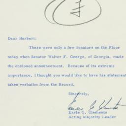 Letter : 1956 February 14