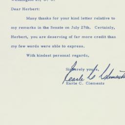 Letter: 1956 August 2