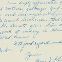 Letter : 1951 September 23