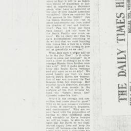 Clipping : 1951 November 28