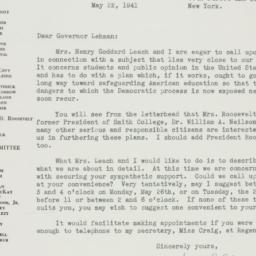 Letter : 1941 May 22