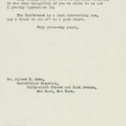 Letter : 1943 November 15