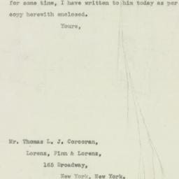 Letter : 1943 June 23
