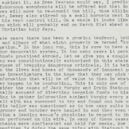 Letter : 1945 February 11
