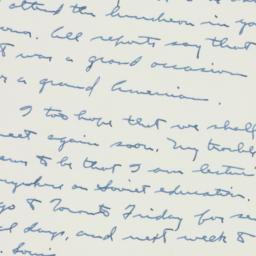 Letter : 1958 April 16
