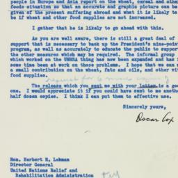 Letter : 1946 February 8