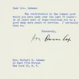 Letter : 1948 March 27