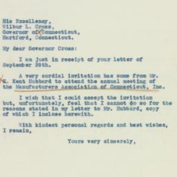 Letter : 1937 October 4