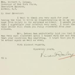 Letter: 1933 October 5