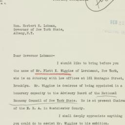 Letter : 1934 February 23