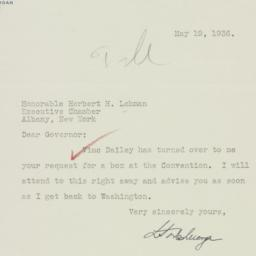 Letter: 1936 May 19