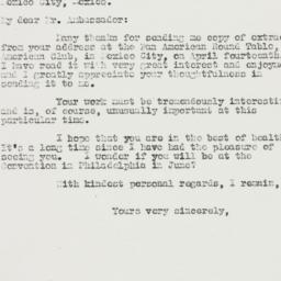 Letter : 1936 April 30