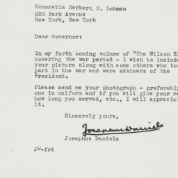 Letter : 1945 July 31