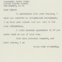 Letter: 1950 June 1