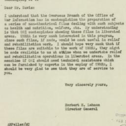 Letter : 1944 February 19