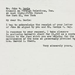 Letter : 1944 July 22