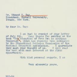 Letter: 1941 July 10